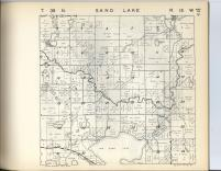 Sand Lake T39N-R15W, Burnett County 1948